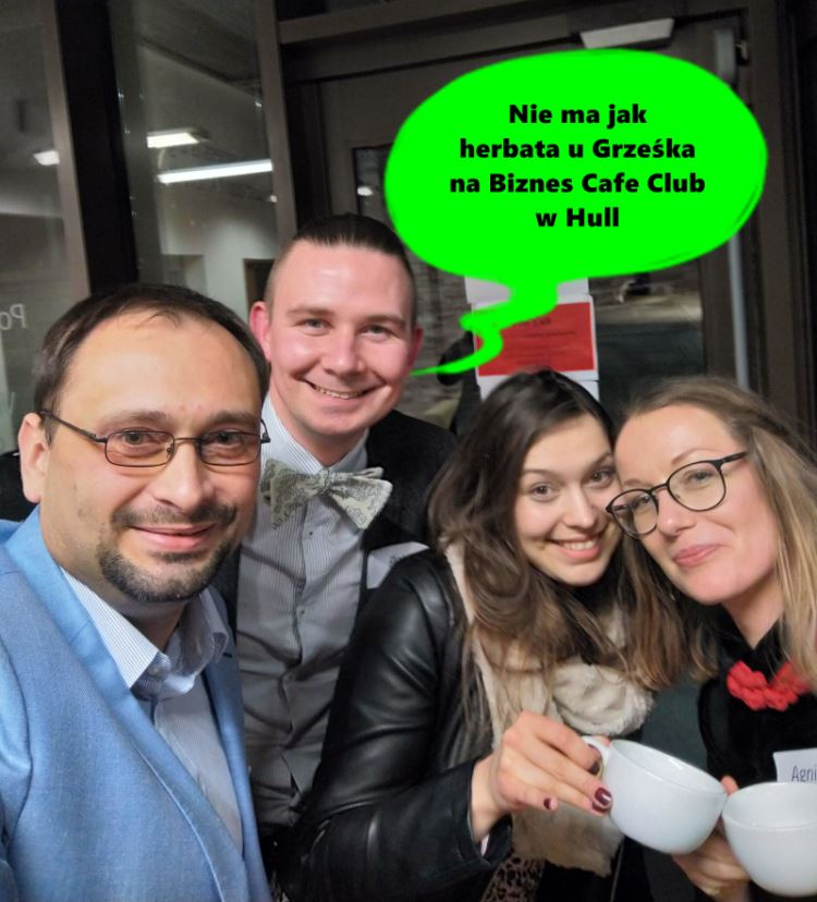 Busines Cafe Club w Hull - jak działa networking