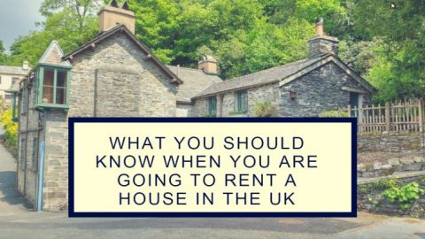 What you should know when you are going to rent a house in the UK