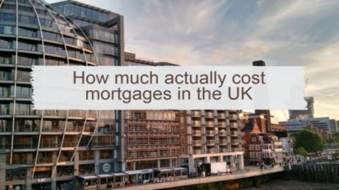 How much actually cost mortgages in the UK