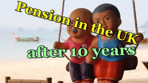 Pension in the UK after 10 years