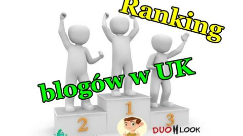 Ranking blogów w UK