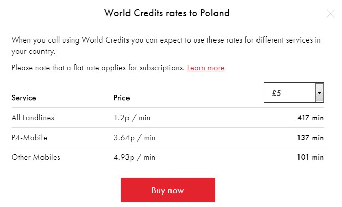 cheap calls to Poland via Rebtel