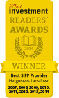 Best SIPP Provider 2007 - 2014