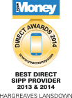 Best Direct SIPP Provider 2013 & 2014